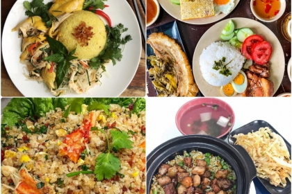 10 BEST AND UNIQUE  VIETNAM RICE DISHES
