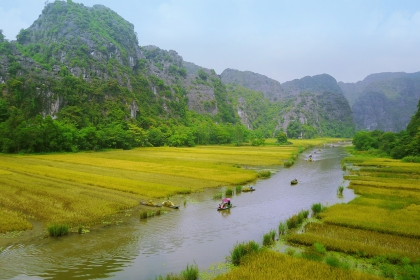 Hoa Lu - Tam Coc Tour From Ha Noi | Ha Noi Package Tour | Viet Nam Trip